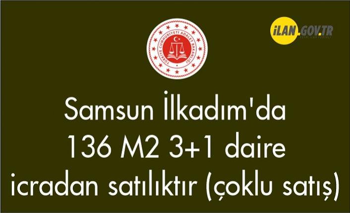 Samsun İlkadım'da 136 m² 3+1 daire icradan satılıktır (çoklu satış)