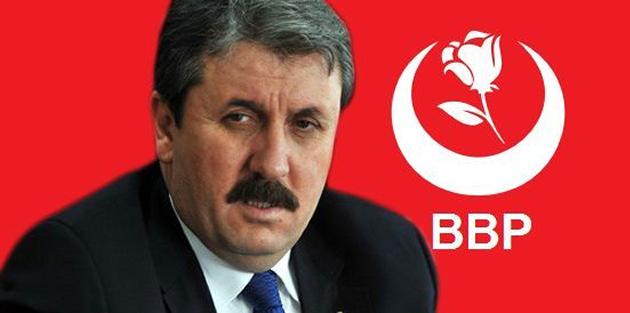 """BBP GENEL BAŞKANI MUSTAFA DESTİCİ: """"MASUM İLE TERÖRİSTİ AYIRMAK ŞART"""""""
