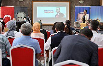 AK Parti'li Karaaslan, partisinin Bafra İlçe Danışma Meclisi Toplantısı'nda konuştu: