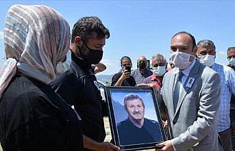 Kıbrıs gazisi Mustafa Bayram, Amasya'da son yolculuğuna uğurlandı