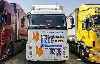 Diyarbakır'dan sel felaketinin yaşandığı Kastamonu'ya 4 tır yardım gönderildi