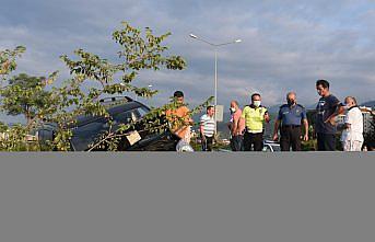 Giresun'da kamyonet kaldırımda fındık kurutanlara çarptı: 1 ölü, 2 yaralı