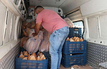 Havza'dan Ayancık'a 3 bin ekmek