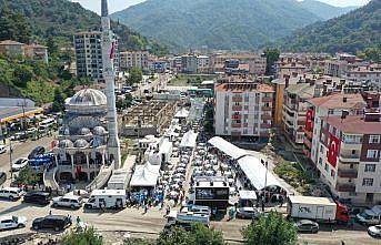 Sel felaketinin yaşandığı Bozkurt'ta hayatını kaybedenler için mevlit okutuldu