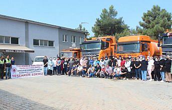 Sel yaşanan Sinop'ta görev yapan Samsun Büyükşehir Belediyesi ekipleri çalışmalarını tamamladı