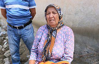 Selden kızı, torunu ve engelli oğluyla kurtulan kadın yaşadıkları korkuyu unutamıyor