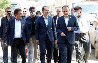 Yeniden Refah Partisi Genel Başkanı Erbakan, sel felaketinin yaşandığı Bozkurt'u ziyaret etti: