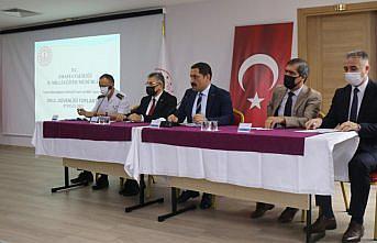 Amasya'da okul güvenliği toplantısı yapıldı