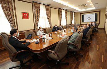 Amasya'da Üniversite Güvenlik ve Koordinasyon Toplantısı yapıldı