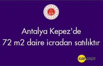 Antalya Kepez'de 72 m2 daire icradan satılıktır