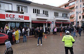 Bozkurt'ta selden zarar gören eczaneler yeniden hizmete girdi