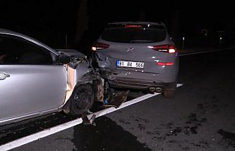 Düzce'de aynı yerde meydana gelen 2 farklı kazada 7 kişi yaralandı