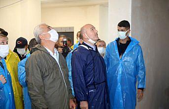 İçişleri Bakanı Soylu, sel bölgesi Bozkurt'ta incelemelerde bulundu