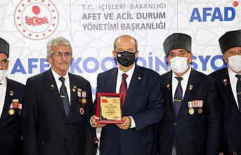 KKTC Cumhurbaşkanı Tatar, sel felaketinin yaşandığı Bozkurt'ta açıklamalarda bulundu: