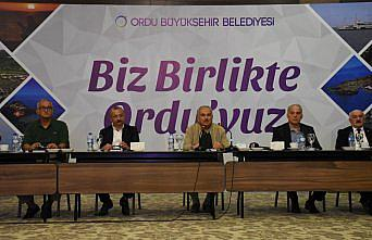 Ordu Büyükşehir Belediye Başkanı Güler kentte yürütülen çalışmaları anlattı: