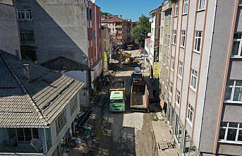 Sel felaketinin yaşandığı Bozkurt'ta çalışmalar 28'nci gününde devam ediyor
