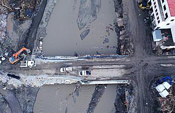 Sel felaketlerine karşı dere yataklarına kemerli ve açılır kapanır köprü önerisi