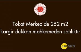 Tokat Merkez'de 252 m² kargir dükkan mahkemeden satılıktır