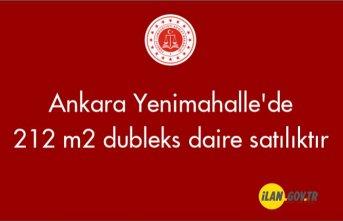 Ankara Yenimahalle'de 212 m² dubleks daire icradan satılıktır