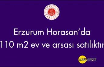 Erzurum Horasan Şerefiye mahallesinde 110 m' ev ve arsası icradan satılıktır