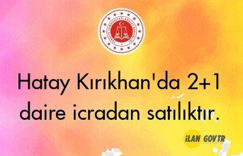 Hatay Kırıkhan'da 2+1 daire icradan satılıktır.