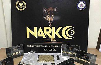 Karabük merkezli  uyuşturucu operasyonunda 5 kişi tutuklandı