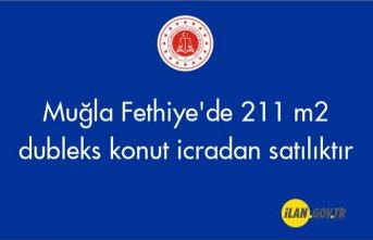 Muğla Fethiye'de 211 m² dubleks konut icradan satılıktır