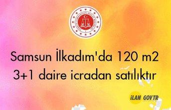 Samsun İlkadım'da 120 m² 3+1 daire icradan satılıktır