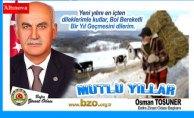 Osman Tosuner`den yeni yıl kutlaması