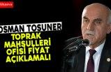 """Ziraat Odası Başkanı Tosuner; """"Çeltik Üreticisi Mağdur Ediliyor"""""""