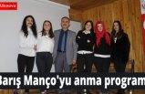 Barış Manço'yu anma programı