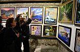 Giresun'da yağlı boya resim sergisi açıldı