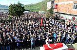 Kaza kurşunuyla şehit olan askerin cenazesi toprağa verildi