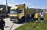 Sinop'ta kamyonun çarptığı yaya öldü