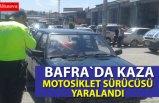 Bafra`da kaza: 1 yaralı