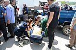 Düzce'de tarım aracı kaza yaptı: 2 yaralı