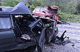 Karabük'te iki otomobil çarpıştı: 1 ölü, 4 yaralı