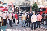 GÜNCELLEME - Samsun'da çarşı merkezinde yangın