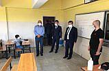 Kavak'ta Kovid-19 denetimi yapıldı