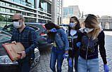 Samsun'da hırsızlık şüphelisi 3 kadın gözaltına alındı