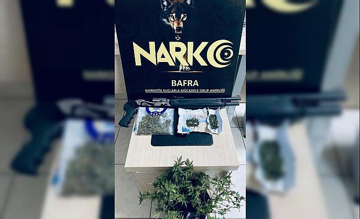 Samsun'da narkotik uygulamasında 18 şüpheli yakalandı