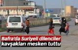 Bafra'da Suriyeli dilenciler kavşakları mesken tuttu
