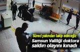 Samsun Valiliği doktora saldırı olayını kınadı
