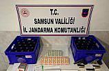 Samsun'da kumar oynanan evde 8 kişi yakalandı