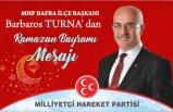 MHP Bafra'dan Buruk Bayram Mesajı