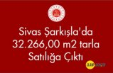 Sivas Şarkışla'da 32.266,00 m² tarla Satılığa Çıktı