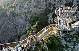 Kanyonlarıyla ünlü Pınarbaşı bayramda nüfusunun 20 katı ziyaretçiyi ağırladı