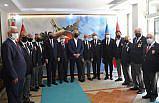 Kastamonu Valisi Çakır, gazi ve şehit aileleri derneklerini ziyaret etti: