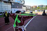 Kastamonu'da Geleneksel Türk Okçuluğu Açık Hava Türkiye Şampiyonası sıralama atışları yapıldı