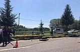 Kastamonu'da refüjdeki ağaca çarpan motosikletin sürücüsü hayatını kaybetti